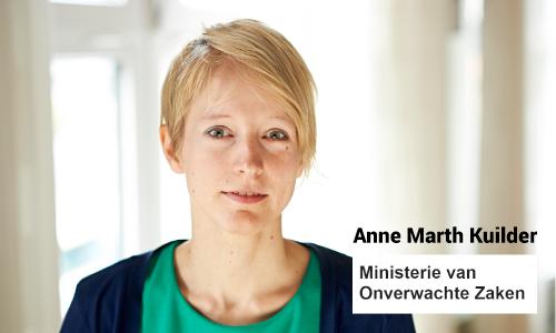 Anne Marth Kuilder - onverwachte zaken