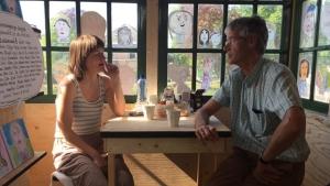 De ontmoeting van Arie Slob en Yvette Halkes
